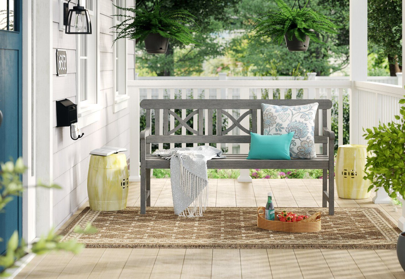 Wooden Garden Benches (View 6 of 30)