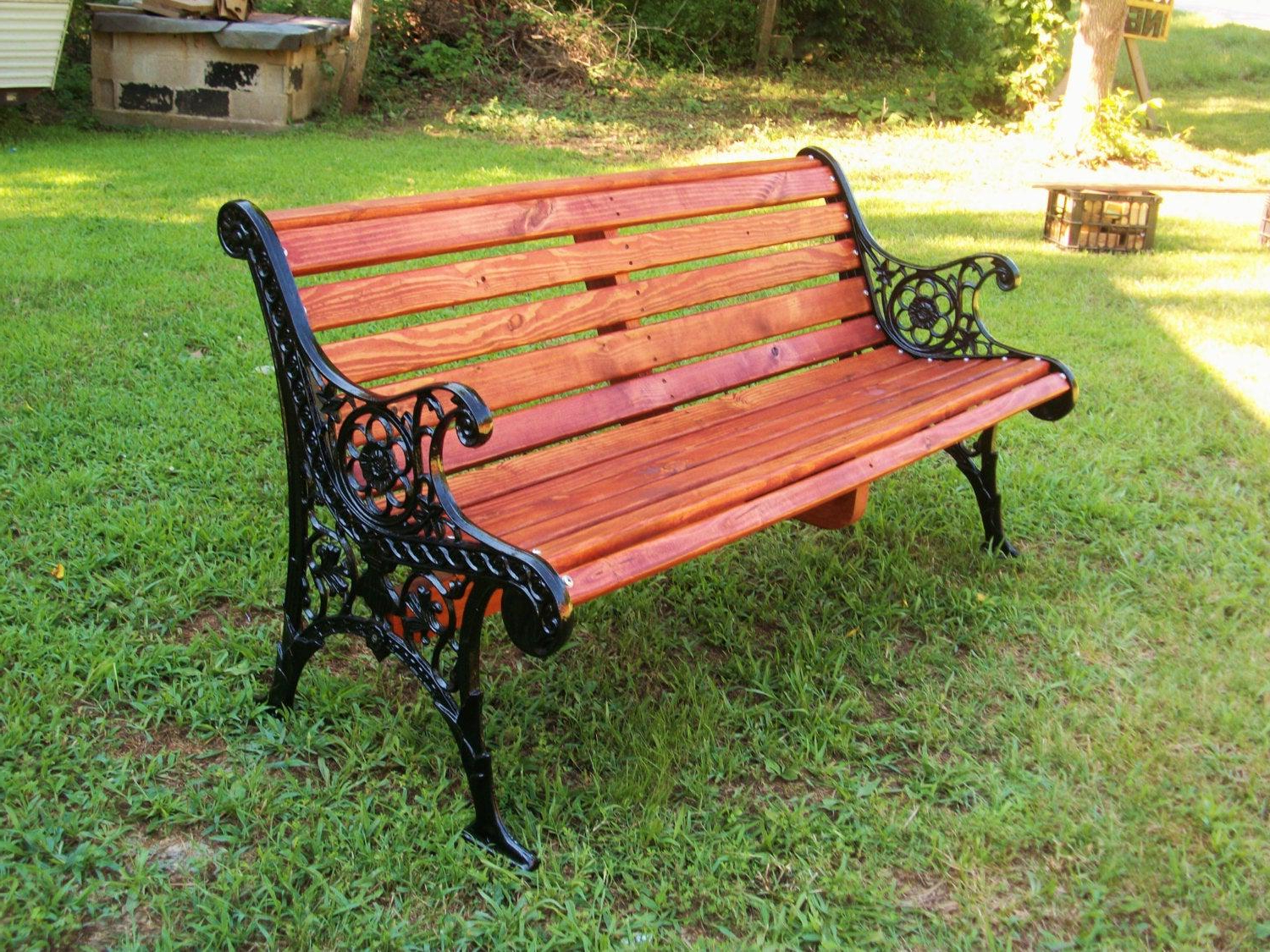 Wrought Iron Patio Benches – Ideas On Foter Regarding Well Known Tree Of Life Iron Garden Benches (View 17 of 30)