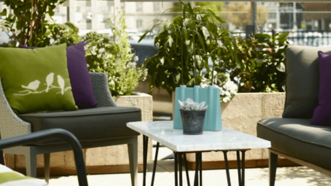 Zev Blue Fish Metal Garden Benches Pertaining To Most Recently Released Patio Design Tips (View 19 of 30)