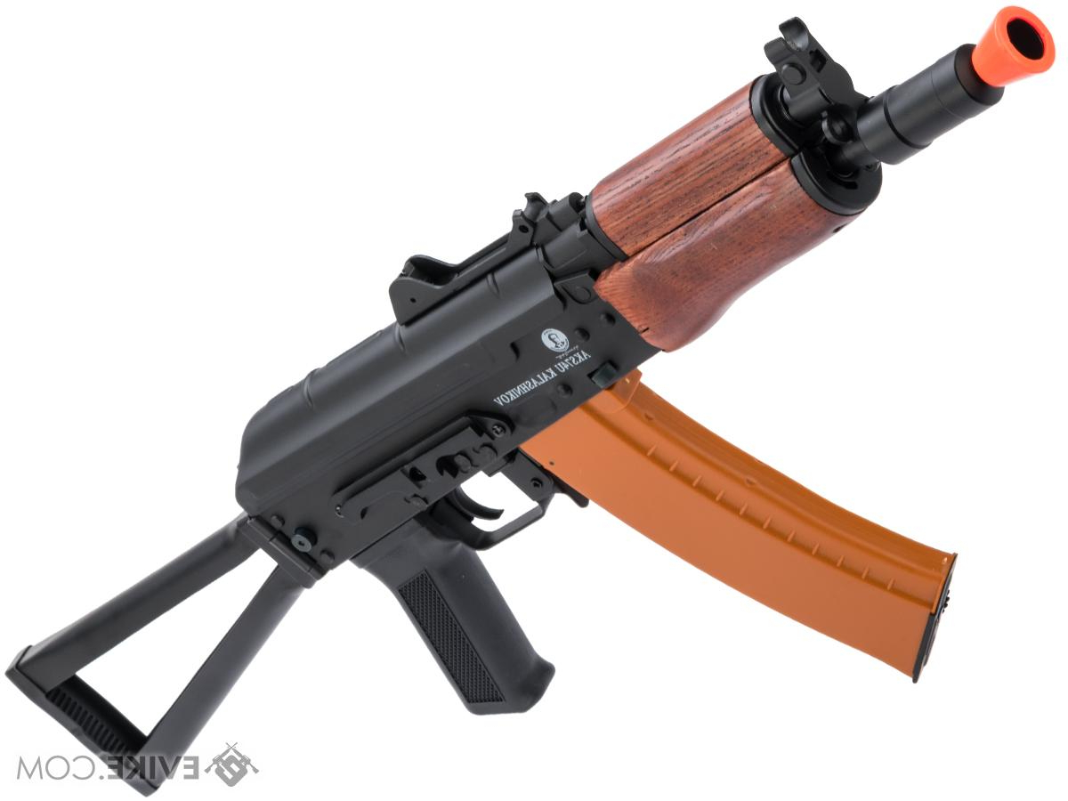 Zev Blue Fish Metal Garden Benches Within Preferred Softair Licensed Kalashnikov Full Metal Aks74u Airsoft Aeg With Real Wood Furniture (View 28 of 30)