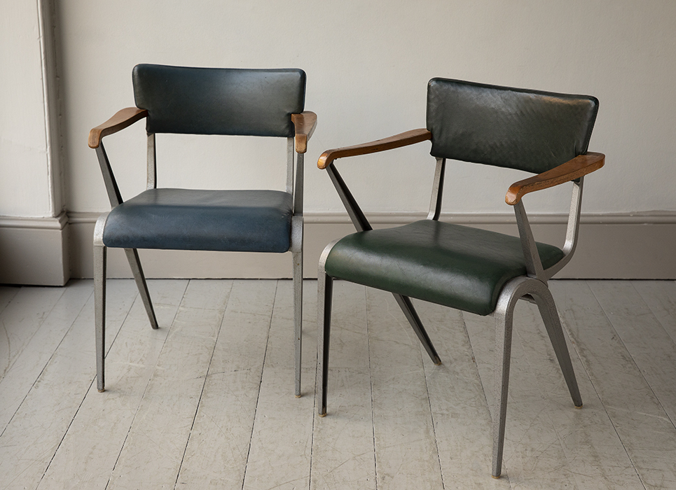 1940s Esavian 'masters Armchairs' Designedjames Leonard For Fashionable James Armchairs (View 28 of 30)