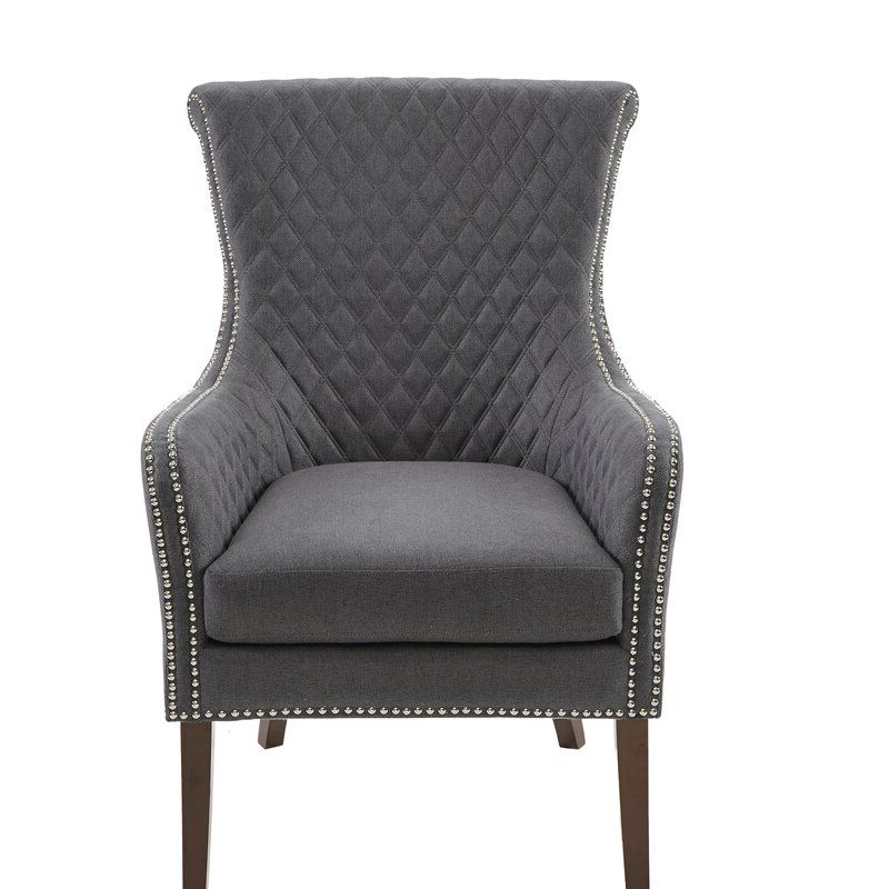2019 Busti Wingback Chairs Intended For Busti Wingback Chair In (View 3 of 30)
