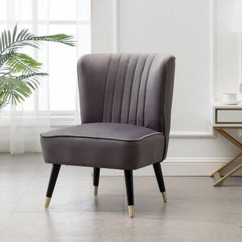 2019 Easterling Velvet Slipper Chairs Intended For Easterling Velvet Slipper Chair – Wayfair (View 6 of 30)
