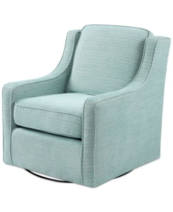 2019 Vineland Polyester Swivel Armchairs Within Furniture Harris Swivel Chair & Reviews – Furniture – Macy's (View 12 of 30)