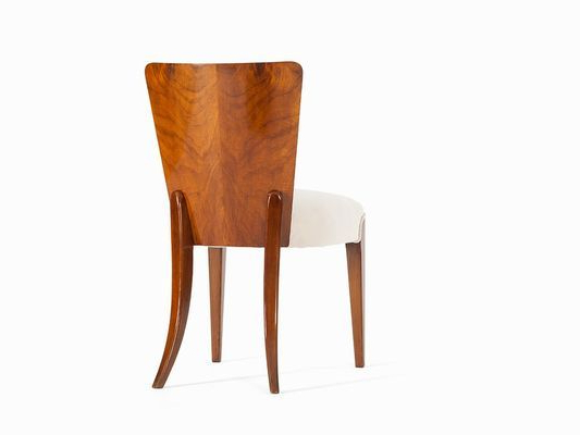 2020 Art Deco Dining Chairjindrich Halabala For Thonet In Inside Gallin Wingback Chairs (View 25 of 30)