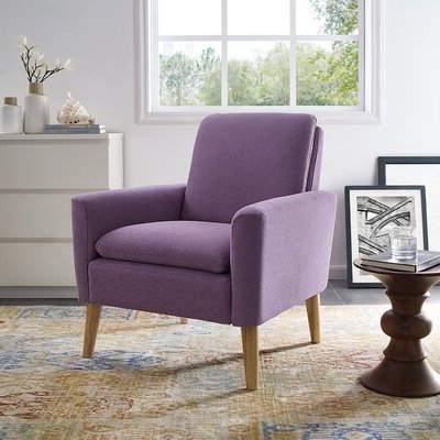 "2020 Biggerstaff Polyester Blend Armchairs Throughout Biggerstaff 30"" W Polyester Blend Armchair (View 2 of 30)"