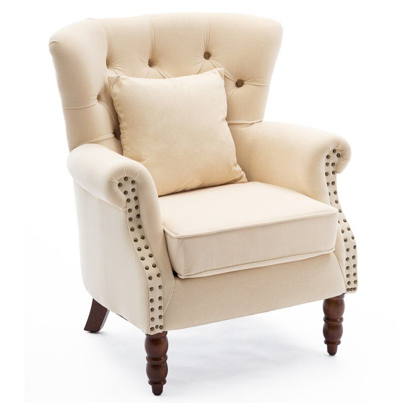2020 Cerna Wingback Chair (View 29 of 30)