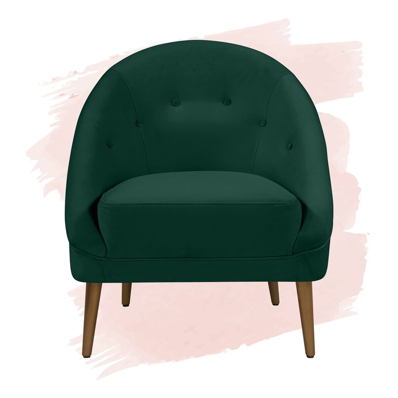 """2020 Danny 20"""" Barrel Chair With Danny Barrel Chairs (set Of 2) (View 2 of 30)"""