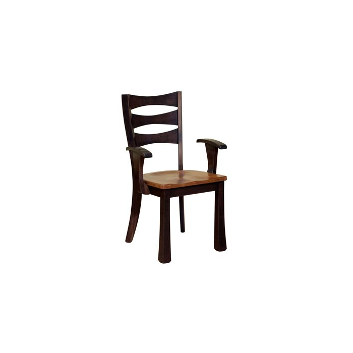 2020 Exeter Solid Wood Amish Arm Chair Within Exeter Side Chairs (View 16 of 30)