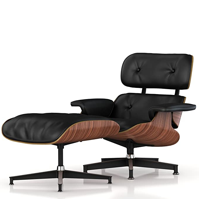 2020 Herman Miller Eames Standard Lounge Chair And Ottoman Within Harmon Cloud Barrel Chairs And Ottoman (View 21 of 30)