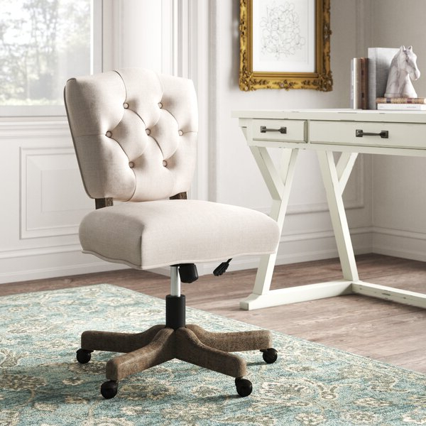 2020 Hutchinsen Polyester Blend Armchairs With Upholstered Decorative Office Chair (View 25 of 30)