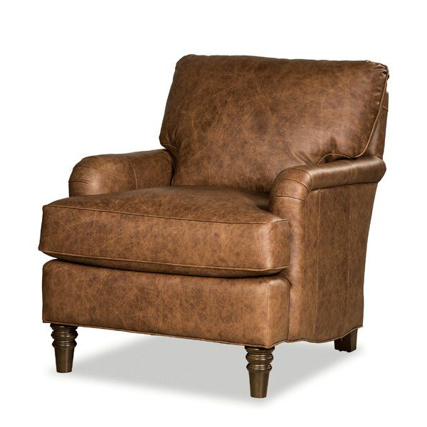 """2020 Steel 33"""" W Top Grain Leather Armchair (View 7 of 30)"""