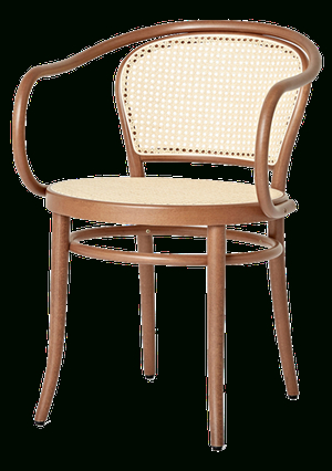 2020 Ton 33 Caned Arm Chair (View 20 of 30)