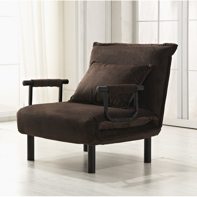 8 Best Sleeper Chairs Inside 2019 Onderdonk Faux Leather Convertible Chairs (View 20 of 30)