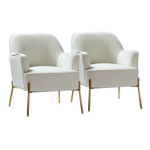 Accent Chair Set, Gold Accents (View 22 of 30)