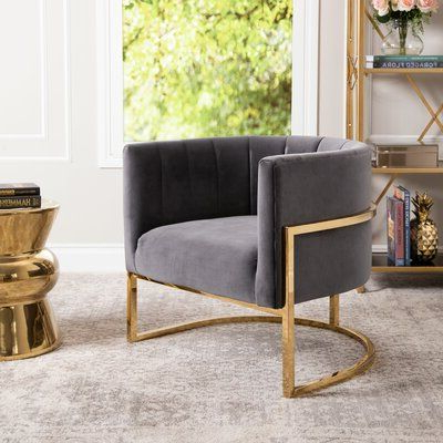 Accent Chairs, Velvet (View 18 of 30)