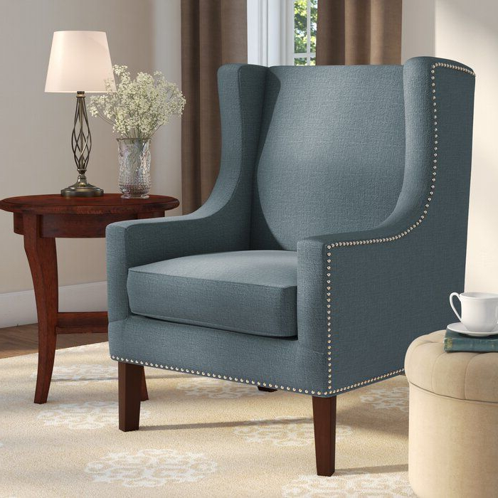 Accent Chairs, Wingback Chair For Well Liked Chagnon Wingback Chairs (View 6 of 30)