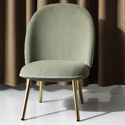Ace Lounge Chair & Foot Stool Metal Legs – Property Furniture In Most Recently Released Lounge Chairs With Metal Leg (View 13 of 30)