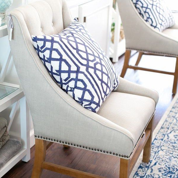 Aime Upholstered Parsons Chairs In Beige For Most Popular Our Northampton Wing Dining Chairs Are Stylish And Elegant (View 9 of 30)