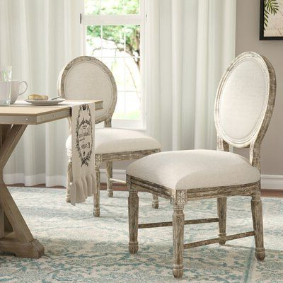 Aime Upholstered Parsons Chairs In Beige For Trendy Three Posts Clintwood Side Chair (View 8 of 30)