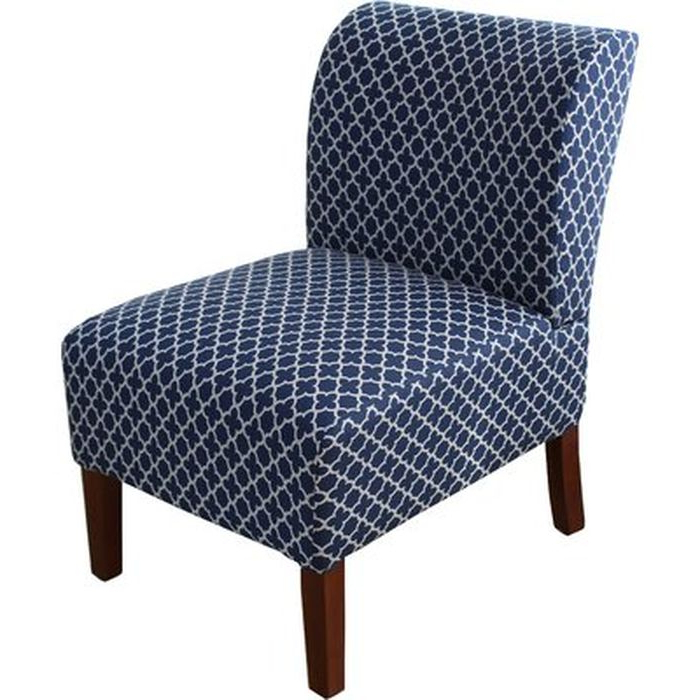 Aime Upholstered Parsons Chairs In Beige Throughout Most Current Maturin Slipper Chair – Wayfair (View 19 of 30)