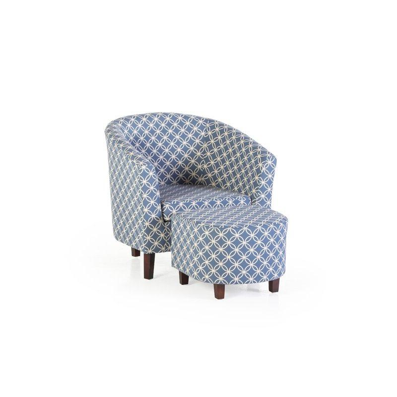 Akimitsu Barrel Chair And Ottoman Sets With Popular Brames Barrel Chair And Ottoman (View 20 of 30)