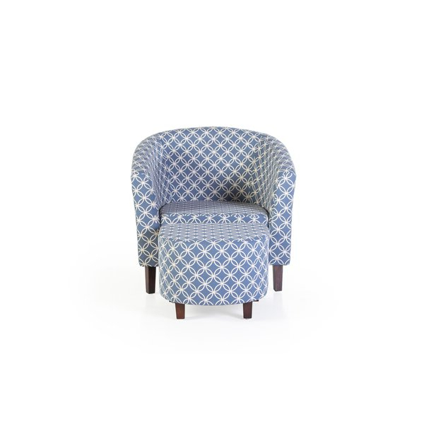 Akimitsu Barrel Chair And Ottoman Sets With Regard To Famous Brames Barrel Chair And Ottoman (View 4 of 30)