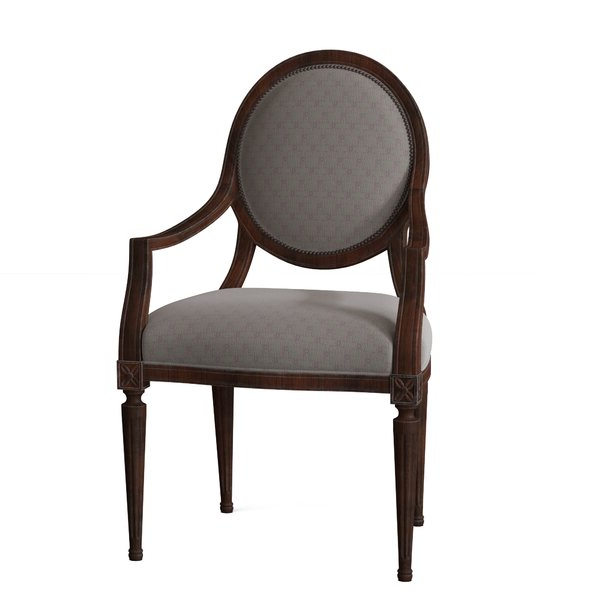 Alexander Cotton Blend Armchairs And Ottoman With Regard To Most Popular Jil Armchair (View 20 of 30)