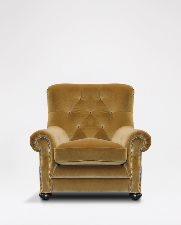 Alexander & James Fable Armchair In Fabric With Most Recent James Armchairs (View 2 of 30)