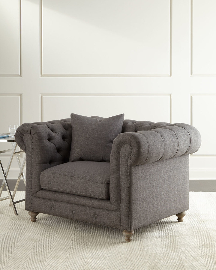 Allis Tufted Polyester Blend Wingback Chairs In Best And Newest Alice Tufted Chair (View 16 of 30)