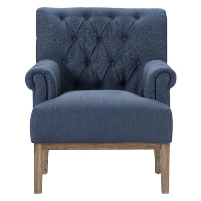 Allis Tufted Polyester Blend Wingback Chairs Intended For Widely Used Ashlee Armchair – Wayfair (View 19 of 30)
