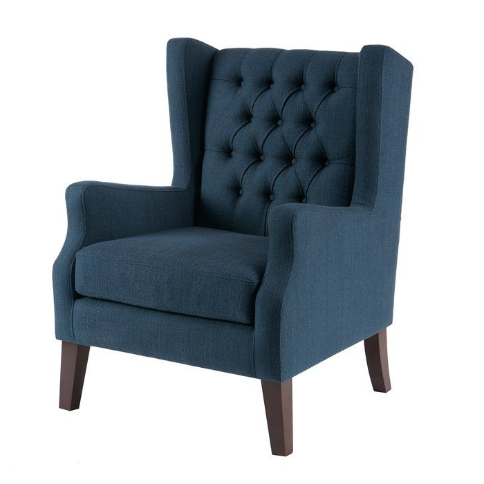 Allis Wingback Chair In (View 5 of 30)