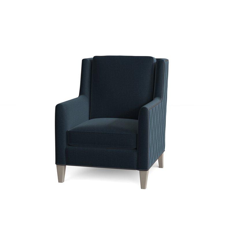"Almada 30"" W Down Cushion Armchair Inside Trendy Almada Armchairs (View 5 of 30)"