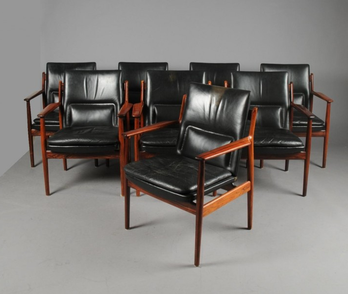 Almada Armchairs Intended For Well Known Arne Vodder Rosewood Armchairs · Pedras & Pêssegos (View 26 of 30)