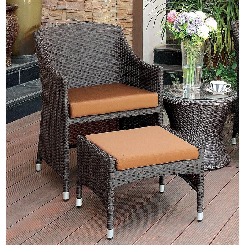 Almada Armchairs Pertaining To Widely Used Furniture Of America Outdoor Seating Almada Cm Ot2550 Ac (View 12 of 30)