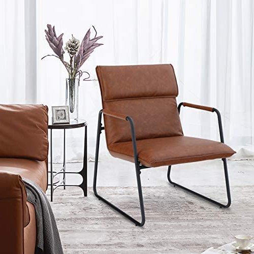 Featured Photo of Lounge Chairs With Metal Leg