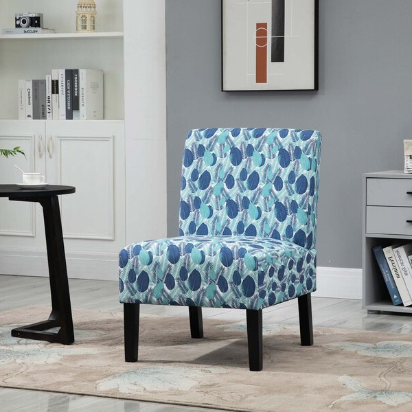 Alush Accent Slipper Chairs (set Of 2) Pertaining To Favorite Patterned Accent Chairs (View 15 of 30)