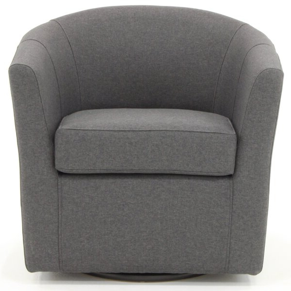 Alwillie Tufted Back Barrel Chairs Pertaining To Current Barrel Chair With Storage (View 8 of 30)