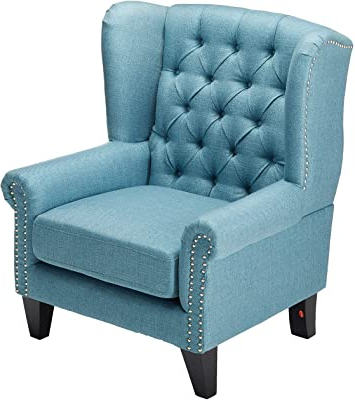 Amazon: Amazon Brand – Stone & Beam Decatur Modern Inside Famous Gallin Wingback Chairs (View 12 of 30)