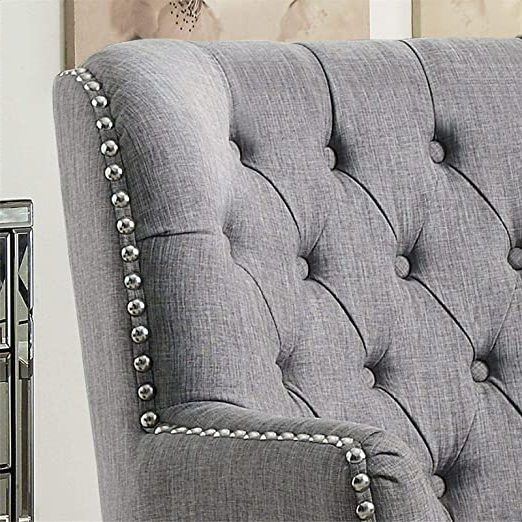 Amazon: Lenaghan Wingback Chair: Kitchen & Dining Within Famous Lenaghan Wingback Chairs (View 8 of 30)