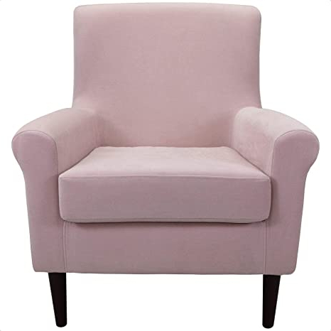 """Amazon: Ronald 20"""" Armchair: Kitchen & Dining Intended For Well Liked Ronald Polyester Blend Armchairs (View 4 of 30)"""