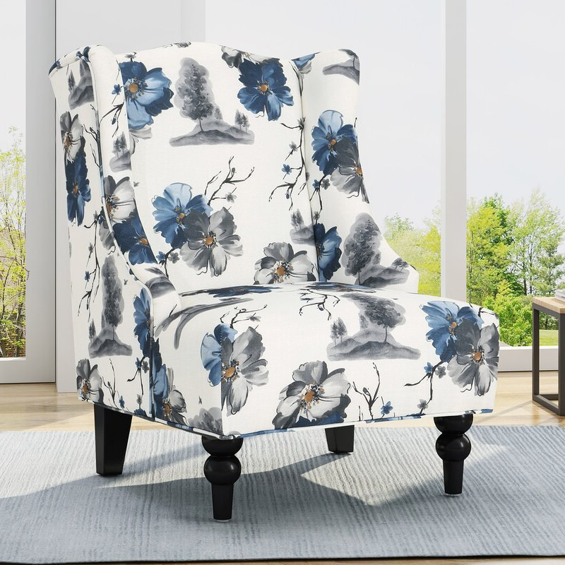 Andover Wingback Chairs Within Newest Caitlin Wingback Chair (View 13 of 30)