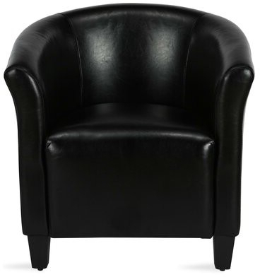 Ansar Faux Leather Barrel Chairs Throughout Preferred Enrique (View 11 of 30)