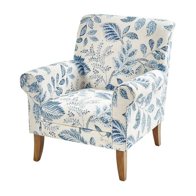 Armchair, Blue Armchair For Artemi Barrel Chair And Ottoman Sets (View 15 of 30)