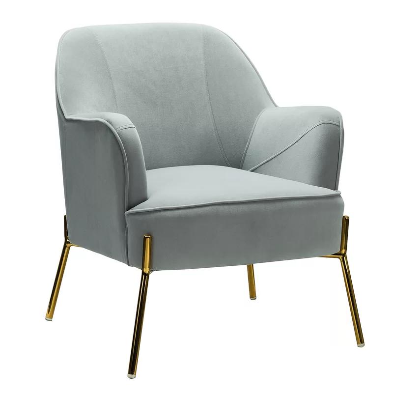Armchair, Metal Sofa, Grey Armchair (View 11 of 30)
