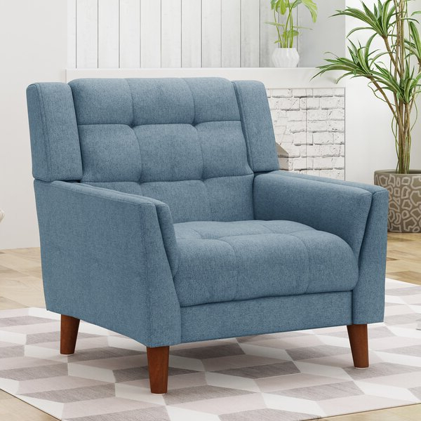 Armory Fabric Armchairs Throughout Widely Used Plush Armchair (View 7 of 30)