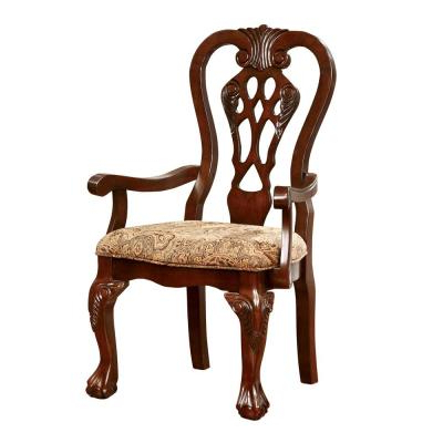Art Deco – Arm Chair – Accent Chairs – Chairs – The Home Depot Within Well Liked Dallin Arm Chairs (View 30 of 30)