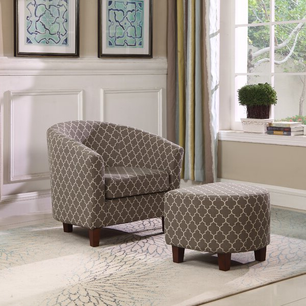 Artemis Chair With 2019 Artemi Barrel Chair And Ottoman Sets (View 2 of 30)