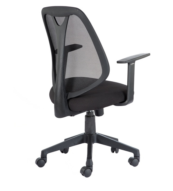 Artemis Ergonomic Chair In Black Colour Inside Current Artemi Barrel Chair And Ottoman Sets (View 28 of 30)