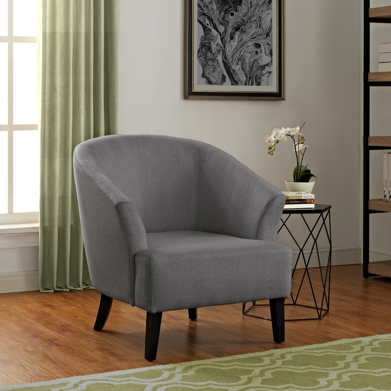 Artesia Barrel Chair Inside Famous Danny Barrel Chairs (set Of 2) (View 10 of 30)
